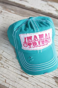 TURQUOISE MAMA TRIED TRUCKER - Junk GYpSy co.