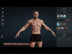Character Creator - Create custom character in Unreal Engine 4 Character Creator, Game Character Design, Game Design, Web Design, Graphic Design, Social Media Measurement, Now Games, Blender Tutorial, Video Game Development