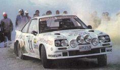 ra uguste Turiani - Gilles Thimonier-Opel Manta 400 G.B-Rally de Portugal Vinho do Porto 1986