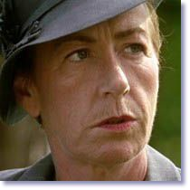 Ellie Haddington as Hilda Pierce from Foyle's War