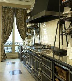 Jessica Lagrange Interiors - kitchens - La Cornue Chateau, pied a terre, pied a terre kitchens, french kitchens, la cornue, la cornue chatea...