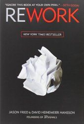 Rework by Jason Fried & David Hansson This is written by the founders of 37 Signals. It's a fresh look at how to build a business; without following many of the conventional ways of doing so. Two of the things that I've carried with me: When building a business, start with the epicenter. If you took this away, would what I'm selling still exist? Not only is this workaholism unnecessary, it's stupid. The real hero is already home because she figured out a faster way to get things done.