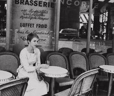 Jean Seberg, in Paris, 1961.