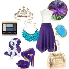 """""""Outfit Inspired by Rarity from My Little Pony!"""""""