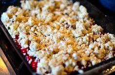 Cherry Crunch Dessert | Reluctant Entertainer