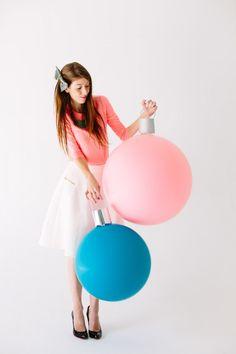 DIY Giant Ornament Balloons | Studio DIY®