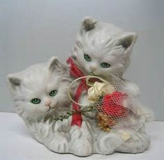 porcelain cats figurines - Bing images