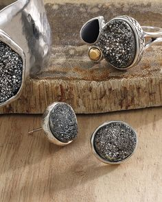 Crystal Cave Earrings | Jewelry by Silpada Designs. www.mysilpada.com/Kate.hekman