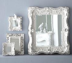 White Framed Mirrors