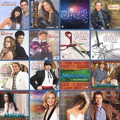 Capas de LPs das novelas da Rede Globo ( 2010 a 2014 )