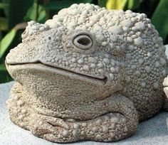 "Hand Cast Stone Todd Wartsmith's Mom - Collectible Concrete Frog, Toad Sculpture by Creative Structures. $38.69. Hand Cast Stone, Weatherproof & Waterproof, Handfinished With A Patina Wash To Accentuate The Details. Dimensions: 5.5"" W x 3.25"" H x 5.25"" L - Item Weight: 3.5 Lbs. - Made In The USA. Extremely Innovative Creations That Breathe Life And Bring Joy And Whimsy To Your Home Or Garden. Perfect Statue To Plae Near A Pond Or On A Deck And Would Also Make A Great..."