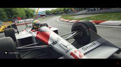 McLaren - Creating A Masterpiece   Ayrton Senna (VIDEO)