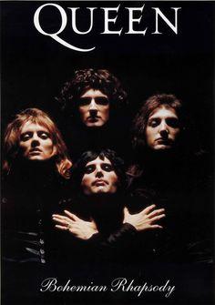 Vintage Music Art Queen - Bohemian Rhapsody 0698 – Poster | Canvas Wall Art Print