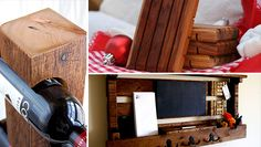 19 Rustic Reclaimed Wood DIY Projects