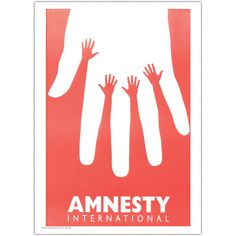 Stick your hands up for human rights. Amnesty by Yemel Yossi - Amnesty International UK Shop.