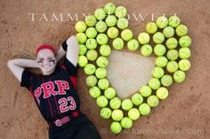 Senior Picture Ideas For Girls   senior girls softball portrait photography - Google Search by willa