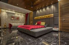 Classy And Posh Bedroom Design Ideas And Inspirations Bedroom False Ceiling Design, Luxury Bedroom Design, Room Design Bedroom, Bedroom Furniture Design, Luxury Decor, Bedroom Ideas, Bedroom Designs India, Office Furniture, Bedroom Decor