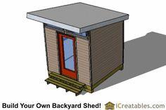 8x10 shed plan top