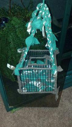 Here's what my sugar gliders sleep in, a simple diy fleece and plastic netting box. Instructions can be found almost anywhere Sugar Glider Care, Sugar Glider Toys, Sugar Gliders, Rat Toys, Bird Toys, Animal Rescue Center, Rat Cage, Pet Rats, Chinchillas