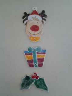 Decorazioni natalizie in ceramica