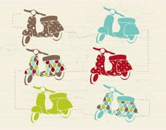 lovely vespas