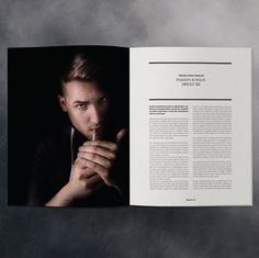Magazine layout | graphic design