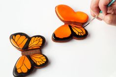 Simple Butterfly Cookies - Part 1 - The Bearfoot Baker