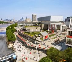Feilden Clegg Bradley Studios released new images of the Southbank Centre.