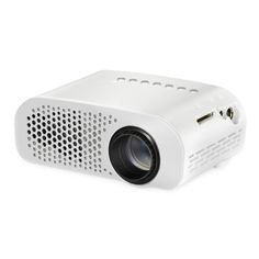 [$34.57] GP802A 100 Lumens Double HDMI HD Mini Projector for Home Theater / School(White)