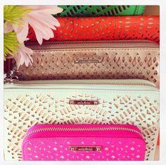 A clutch bag or tech wallet for the summer sun!  Www.stelladot.co.uk/berniemosscollins