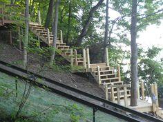 Canandaigua Lake - Intricate Stair Work