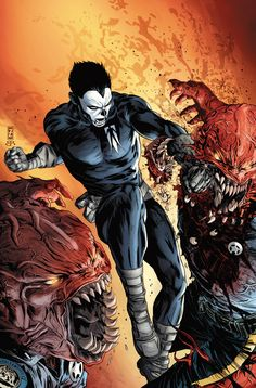 Shadowman #2 - Penciler: Patrick Zircher / Colorist: Brian Reber / Cover Artist: Patrick Zircher and Dave Johnson
