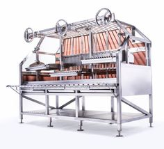 From seared steaks to roast pigs, Argentine asado to Brazilian rodizio, these devices do it all… Grill Oven, Bbq Grill, Grilling, Barbeque Design, Grill Design, Build A Smoker, Backyard Bbq Pit, Barrel Bbq, Cafe Concept