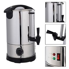 6 Quart Electric Water Boiler Kettle Stainless Steel For Warm Most Kind Of Liquid Drinks TSE089A * You can find more details by visiting the image link-affiliate link.