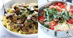 27 Delicious Ideas For Weeknight Pasta Dinners All ready in 30 minutes or less.