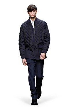 Ermenegildo Zegna Couture: Fall Winter 2014-15 Fashion Show by Stefano Pilati – Look 10