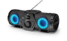BoomBlaster avec lecteur CD, USB et Diffusion Audio via Bluetooth Boombox, Bluetooth, Usb, Karaoke, Music Studio Room, Recording Studio Design, Music System, Diffuser