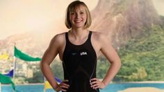 Katie Ledecky Katie Ledecky can go for five medals at 2016 Rio Olympics Olympic Swimmers, Olympic Sports, Olympic Team, Olympic Games, Nbc Olympics, Rio Olympics 2016, Summer Olympics, Katie Ledecky, Gymnastics Pictures