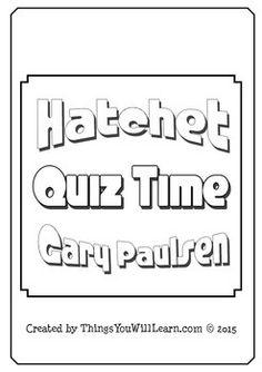 Hatchet Study Guide - Practice Test Questions & Final Exam ...