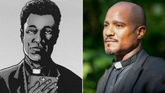 Father Gabriel: The Wire alum Seth Gilliam made his debut as Father Gabriel in the second episode of season five.