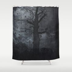 Buy Shower Curtains featuring The dirty winter spirit by HappyMelvin. Made from 100% easy care polyester our designer shower curtains are printed in the USA and feature a 12 button-hole top for simple hanging.