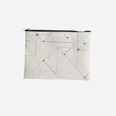 Makeup bag, triangular - selected