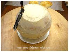 How to make a teapot cake.