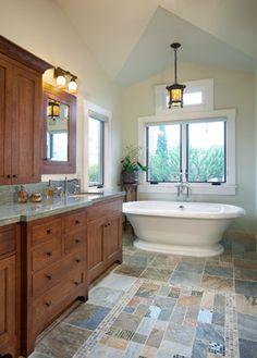 Craftsman / Arts U0026 Crafts Bathroom. Badezimmer Design, Entspannter, Wohnen,  Ideen,
