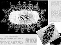 HOUSE HOLD SECTION Features | NEEDLEWORK | BEAUTY HINTS COOKERY | MEDICAL | ATTRACTIVE VANDYKE TATTING BORDER Designed for Use on Mats and Traycloths.     The Australasian (Melbourne, Vic. : 1864 - 1946) Saturday 14 March 1936 p 15