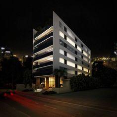 Edifício comercial  Projeto @jonas_birger_arquitetura #vizualization #modernarchitecture #facede #3dmax #vray