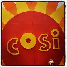 I spy COSI! Photo by @prtini #AsSeenInColumbus
