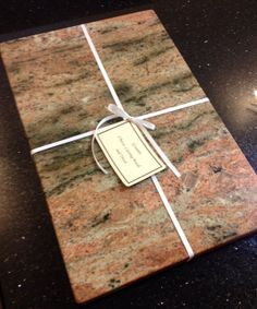 Polished and Sealed Lady's Dream Granite Cutting Board, Cheese Board and Trivet 18 x 12 x 1.25 by Bossert5, $29.99