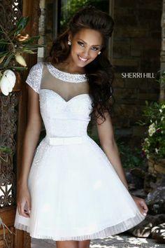Sherri Hill Short Dress 21231 at Prom Dress Shop