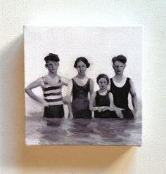 Hoi! Ik heb een geweldige listing gevonden op Etsy https://www.etsy.com/nl/listing/89729808/swimmers-tiny-canvas-print-print-of